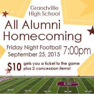 Homecoming Game Ticket Speical
