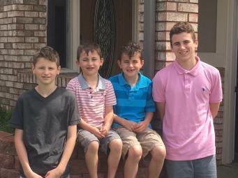Alisons boys